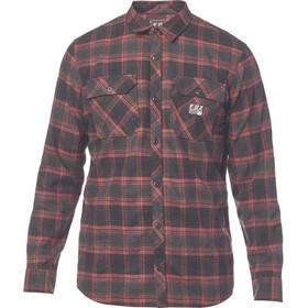 Fox Traildust Flannel Shirt Men cardinal